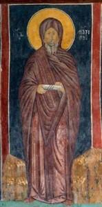 """""""Антоній Великий"""" каплиця Св. Трійці, м. Люблін 1418 майстер Андрій"""
